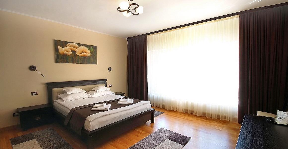 Dormitor apartament Vila Moldavia Class